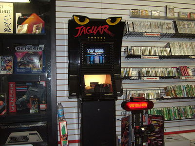 Display 800px atari jaguar and nintendo virtual boy demo stations