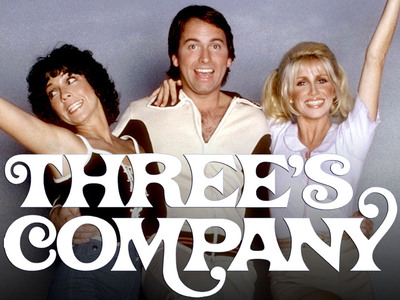 Display threes company logo