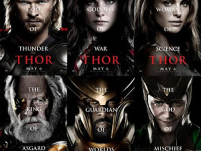 Display thor posters