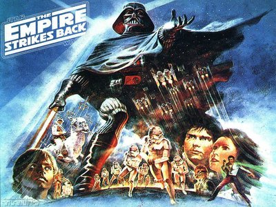 Display empire strikes back alternative poster