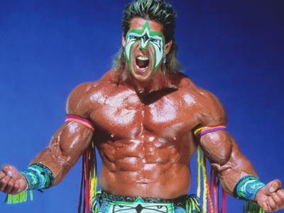 Display the ultimate warrior