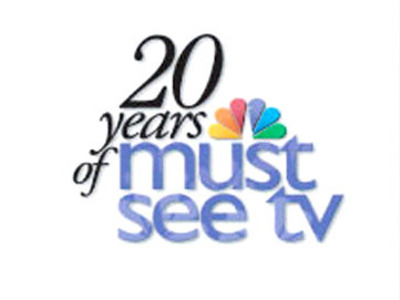 Display 20 years of must see tv