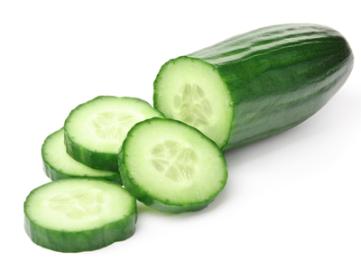 Display cucumbers
