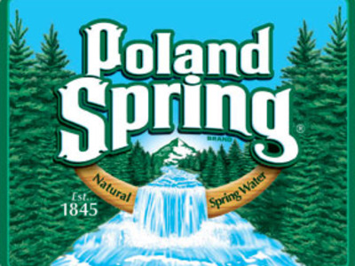 Display poland spring logo 030809