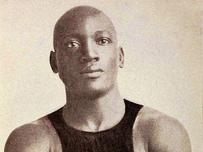 Display 461px jack johnson boxer c1908
