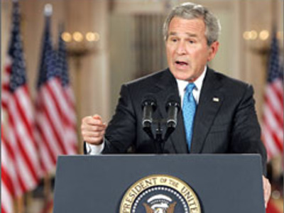 Display bush speech