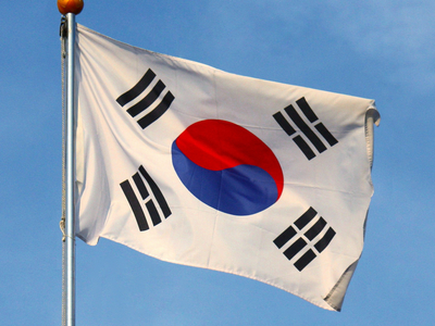 Display flag of south korea  28cropped 29