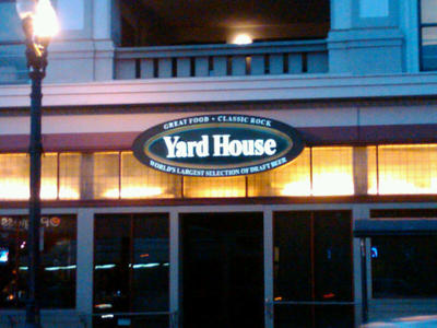 Display yard house san diego