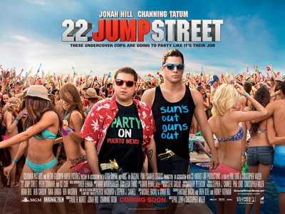 Display 22 jump street quad poster