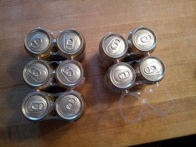 Display ten cans