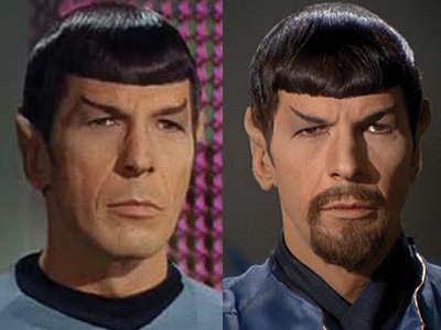 Spock evil twin morror universe nimoy